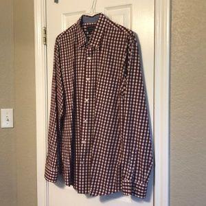 Checkered Crown & Ivy shirt